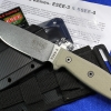Esee 4PMB SS Model 4 Stainless Bead Blast Plain Blade