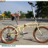 จักรยานพับได้ WCI HOLIDAY 20 นิ้ว 6 สปีด เฟรมเหล็ก