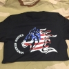 Hinderer FLAG T-SHIRT BLACK MED