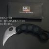 มีดพับคารัมบิต (Karambit) 5.11 TARANI KNIFE รุ่น X11 (OEM) ใบเรียบ