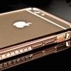 เคสเพชร Diamond Bumper สำหรับ iPhone 6 สีทองชมพู