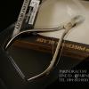 กรรไกรตัดหนัง RHINO BRAND No.576 SKIN CLIPPER Sharp Precision Blade Satin Finish