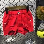 กางเกง สีแดง แพ็ค 5 ชุด ไซส์ 7-9-11-13-15