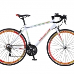 จักรยานเสือหมอบ KEYSTO RS600 14สปีด เฟรมเหล็ก 700C 2018