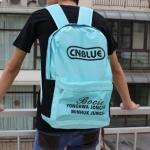 กระเป๋าสะพายหลัง CNBLUE สีฟ้า