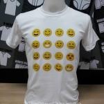 ลูกค้านำเสื้อยืดสีขาวมาให้พิมพ์ งานพิมพ์เสื้อ คุณภาพดี ด้วยระบบ DTG ร้านสกรีนเสื้อสวยต้อง MooMooTshirts