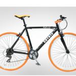 """จักรยานไฮบริด Coyote """"Hybrid"""" ล้อ 700 เฟรมอลู 21 สปีด"""