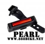 ไฟท้ายจักรยาน PEARL รุ่น BL326T ชาร์จ USB