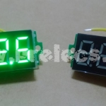 "Volt Meter DC 0.36"" สีเขียว"