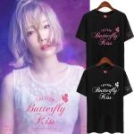 เสื้อยืด (T-Shirt) Taeyeon - Butterfly Kiss