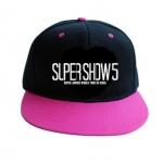 หมวกSJ SUPER SHOW5 (สีดำชมพู)