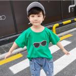 เสื้อ+กางเกง สีเขียว แพ็ค 5 ชุด ไซส์ 110-120-130-140-150 (เลือกไซส์ได้)
