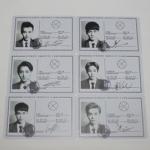 บัตรประจำตัวEXO-M(6PC)