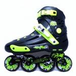 รองเท้าสเก็ต rollerblade แบบสลาลม รุ่น MNG สีเขียวดำ Fixed Size 44