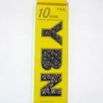 """โซ่ YBN MODEL SLA-H10-TIG(1/2x11/128"""") SPEED:10 TITANIUM สีทอง"""