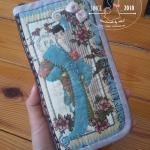 กระเป๋าใบยาว ผ้าญี่ปุ่น - สั่งทำ