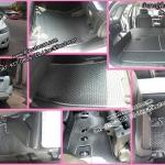 ขายพรมกระดุมปูพื้นรถยนต์เข้ารูปเต็มคัน Chevrolet Cabtiva ลายกระดุมสีดำขอบเทา