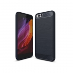 Black Case Cover Xiaomi Mi6 PU Bumper Case (ฺฺBLACK)