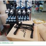ที่จอดจักรยานแบบสอดล้อ BUG Folding bicycle parking stand ,PV-7076-07 พับได้