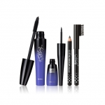 MENOW Brand Eyes Makeup Kit Mascara&Liquid Eyeliner&Eyebrow Pencil Waterproof Eyes Make Up Combination Cosmetic Set