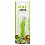 Golf สายชาร์จ Micro USB (Golf Micro USB Charging Cable) สีเขียว