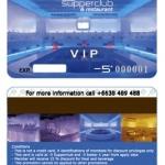 บัตรแถบแม่เหล็ก 0.76 Magnetic Strip Card
