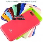 เคส iPhone 6/6s แบรนด์ Goospery (Mercury Jelly Case) สีชมพูเข้ม