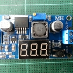 LM2596 step-down DC-DC adjustable power supply module with digital display