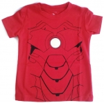 WD2 The Wonderful World Of Disney เสื้อยืดเด็ก แขนสั้น สีแดง Ironman Cotton 100% Size 18M-3Y