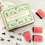 Mountain Birds Stamp Collection