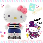 [พร้อมส่ง] Hello Kitty play roller skate plush doll SIZE XL ตุ๊กตาเฮลโหลคิตตี้ยืนเล่นสเก็ตบอร์ด