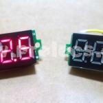 """Volt Meter DC 0.36"""" สีแดง"""