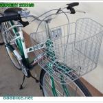 """จักรยานแม่บ้าน City bike """" Winn"""" รุ่น Discovery พร้อมตะกร้าหน้าแสตนเลส ยาง 27x13/8"""