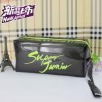 กระเป๋าดินสอเรืองแสง SUPER JUNIOR SJ สีดำ