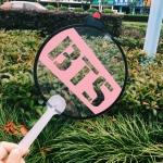 พัดกลม #BTS ARMY