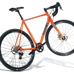 Fuji Cross 1.5 Disc Road Bike Orange Grey 2017