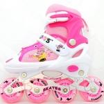 รองเท้าสเก็ต rollerblade รุ่น MMWP สีชมพู Size S ** พร้อมเซทสุดคุ้ม