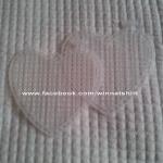 แผ่นเฟรมรูปหัวใจขนาดเล็ก