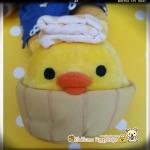 ตุ๊กตากุ๊กไก่โระอิโทะริแช่ออนเซน Rilakkuma Kiiroitori plush doll Onsen series