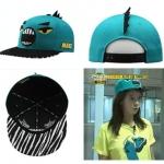 หมวก runningman มอนสเตอร์สีเขียว