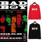 เสื้อแขนยาว (Sweater) Red Velvet - Bad Boy