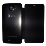 Original Black Protective Flip Case Cover for ThL W200 Smartphone