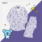 #BT21 PAJAMAS ชุดนอน (เสื้อ+กางเกง) : KOYA