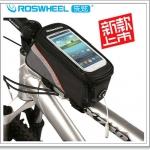 กระเป๋าใส่โทรศัพท์คาดเฟรม พร้อมที่เสียบหูฟัง Roswheel 12496