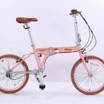 จักรยานพับได้ K-ROCK A2003ADCL ใช้เพลาขับเคลื่อน 3 สปีด 2018