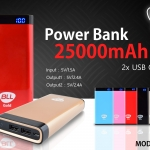 Power Bank BLL Gold G17 ความจุ 25000 mAh