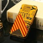 Case iPhone 5 / 5s >> Flag Series สีเหลือง