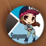 เข็มกลัด Sooyoung - I Got a Boy