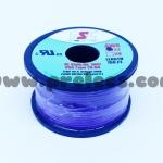 สายไฟTSL #22AWG 100FT(30m) สีม่วง