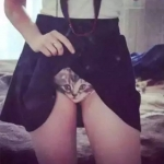 [พร้อมส่ง] กางเกงในหน้าแมว 3D แบบสามมิติ งานน่ารัก